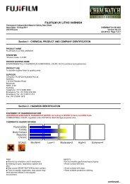 Chemwatch Australian MSDS 28-0435 - FUJIFILM Australia