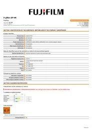 Chemwatch Australian MSDS 28-1156 - FUJIFILM Australia