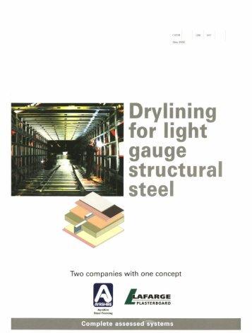 Light Gauge Steel Portal Frame Load Span Tables