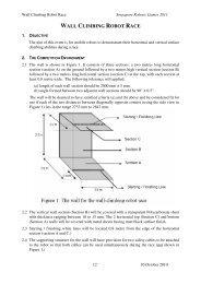 WALL CLIMBING ROBOT RACE
