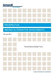 prospectus amundi alternative investments - Baiduri Bank