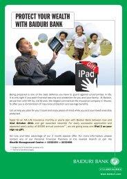 PROTECT YOUR WEALTH WITH BAIDURI BANK