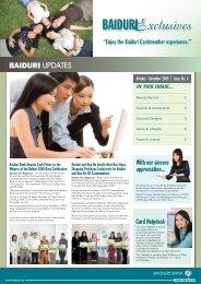 Xclusives BAIDURI - Baiduri Bank