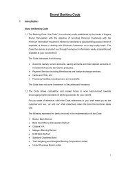 Brunei Banking Code - Baiduri Bank