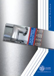 Technical Brochure - Ferritics - Moly - Columbus Stainless