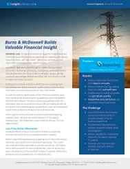 Burns & McDonnell Builds Valuable Financial Insight