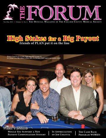 November-December 2012 The Forum - Collier County Medical Society
