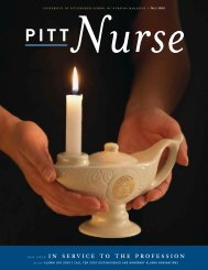 this issue: in service to the profession - School of Nursing