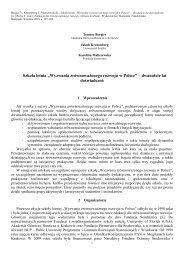 Wyzwania zrównoważonego rozwoju w Polsce - Fundacja Sendzimira