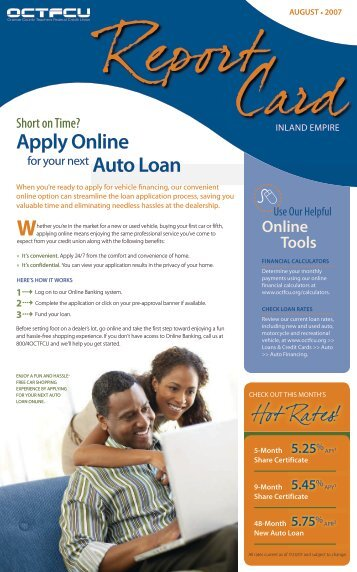 Apply Online - SchoolsFirst Federal Credit Union