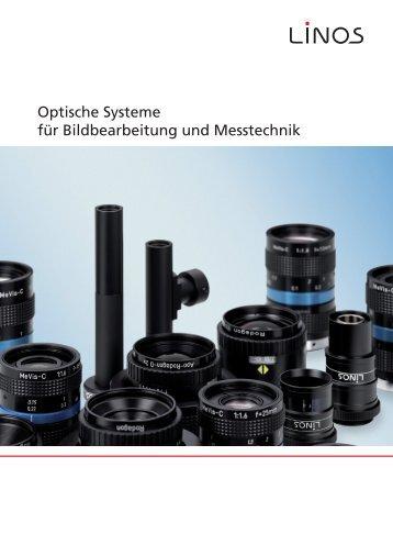 Optische Systeme für Bildbearbeitung und Messtechnik - EURECA ...