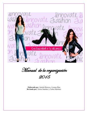 Manual de la organización 2015
