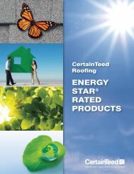 ENERGY STAR® RATED PRODUCTS - Advanced Exteriors Inc.