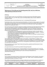 (VA) und der schriftlichen Schlussprüfung - Gewerbliche ...