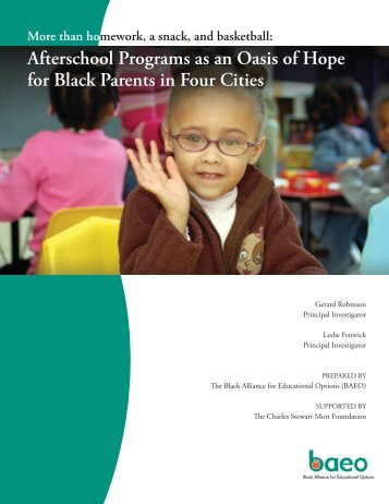 than homework.pdf - Statewide Afterschool Networks