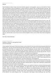 Editorial Kleine Redaktionen haben Vorteile: Sie ... - Haus der Völker