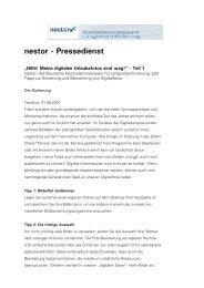 nestor - Pressedienst - Deutsche Nationalbibliothek