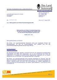 pyrotechnik-gesetz stellungnahme kija stmk - Kinder- und ...