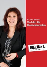 pdf download - DIE LINKE. Katrin Werner