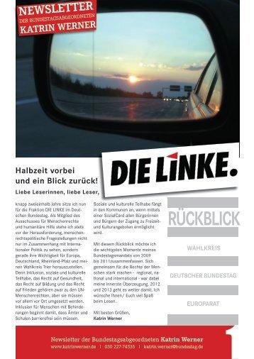 Februar Rückblick - Katrin Werner