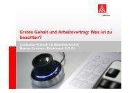 Arbeitsvertrag - Hochschulinformationsbuero.de