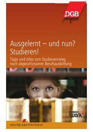 Ausgelernt – und nun? Studieren! - AStA Paderborn
