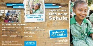 """""""Bildung macht Mädchen stark"""" (PDF) - Schulen für Afrika"""