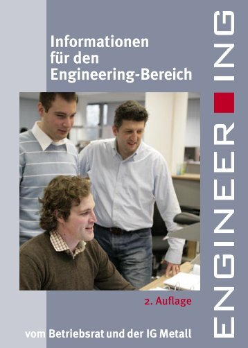 Informationen für den Engineering-Bereich - IG Metall 4 you