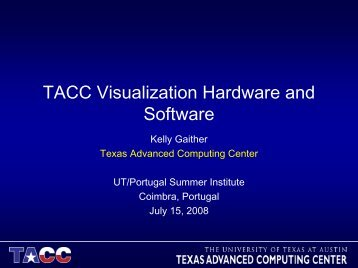 TACC Visualization Systems