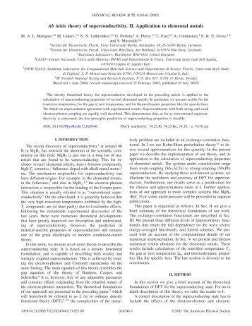 Ab initio theory of superconductivity. II. Application to elemental metals