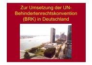 Zur Umsetzung der UN - DIE LINKE. Katrin Werner