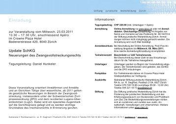 Informationen + Jahresprogramm 2011 - Vischer