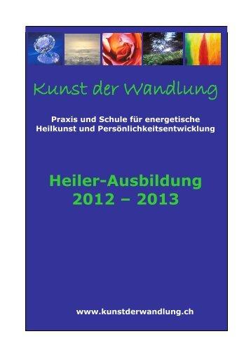 Detail-Infos zur Heiler - Ausbildung - Shamanic Dream