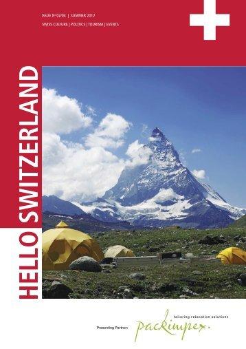 Hello Switzerland Summer 2012 - Golf4Fun Community