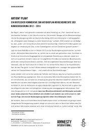 Aktionsplan Menschenrechte - Beitrag SVK für ... - Katrin Werner