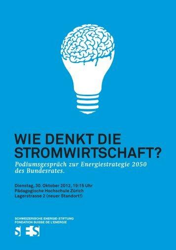 Flyer - Schweizerische Energie-Stiftung