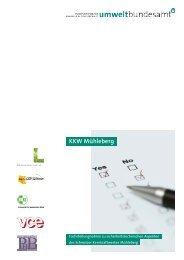 Die Studie des österreichischen Umweltbundesamts (Wien, 2012)