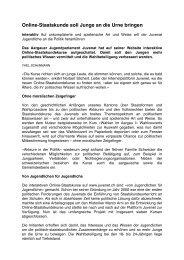 in der Aargauer Zeitung vom 10.10.2008 als .pdf ... - Politische Bildung