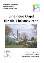 Eine neue Orgel für die Christuskirche - Neunkirchen