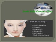 FUE Hair Transplant Service at South Delhi Cosmetic Clinic