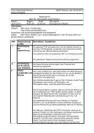 Ausschusssitzung vom 15.01.2013 (pdf, 51.9 KB) - Ortsamt Borgfeld