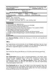 Beiratssitzung vom 11.11.2008 (pdf, 377.1 KB) - Ortsamt Borgfeld