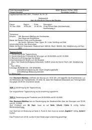 Beiratssitzung vom 15.12.2009 (pdf, 79.1 KB) - Ortsamt Borgfeld