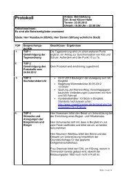 2_Protokoll nach Korrektur.pdf (3.7 MB) - Ortsamt Borgfeld