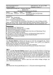 Beiratssitzung vom 20.01.2009 (pdf, 425.9 KB) - Ortsamt Borgfeld