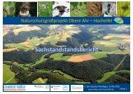 Sachstandbericht Naturschutzgroßprojekt Obere Ahr – Hocheifel
