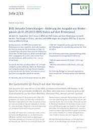 Info 2/13 - LKV Nordrhein-Westfalen eV
