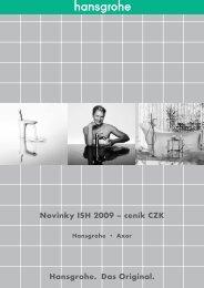 HG+AX Novinky ISH 2009 - cenik CZK.indb - Genova Bohemia sro
