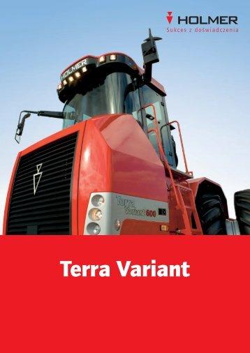 Terra Variant - Holmer Maschinenbau GmbH