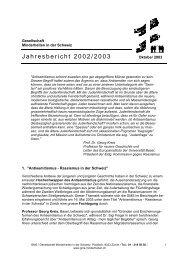 Jahresbericht 2002/2003 - GMS